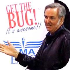Burt at Academy of Model Aeronautics Expo 2010