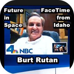 Burt Rutan FaceTime with NBCLA TV 4 October 2012 (1 of 2)