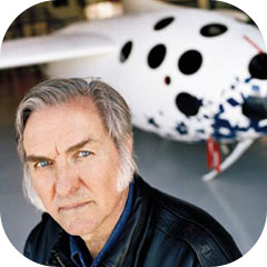 Rocket Man Burt Rutan by Bruce V. Bigelow for Christian Science Monitor 2004