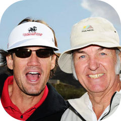 Kevin Sorbo Interviews Burt Rutan for Golf Tournament 2011