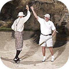 Spacemen at PGA West by Joe Bragmann for The Washington Post 2008