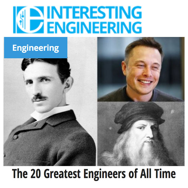 The 20 Greatest Engineers of All Time